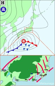 H_南岸低気圧