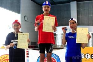 小学5・6年生女子50m障害物スイム