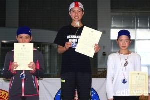 中学生女子100mマネキントウ・ウィズフィン