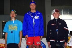 中学生男子100mマネキントウ・ウィズフィン