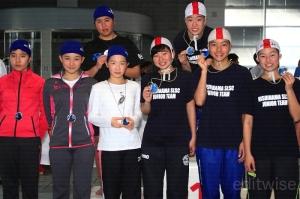 中学生女子4×50mメドレーリレー