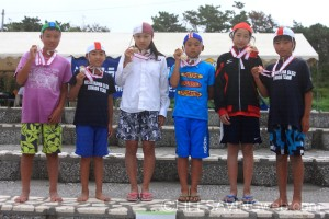ビーチフラッグス・小学5-6年男女